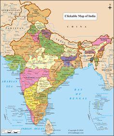 India Map | sagar | India map, India, Map