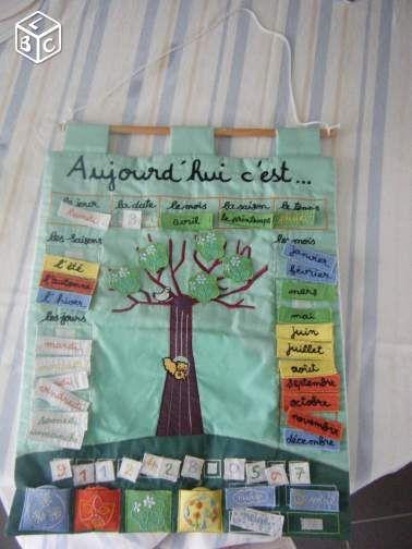 Calendrier Tissu Educatif.Calendrier Educatif Enfant Notre Dame De Sanilhac Permet D