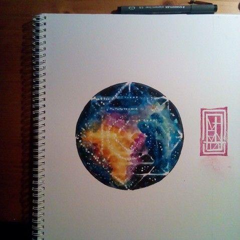 SacredUniverse Watercolor