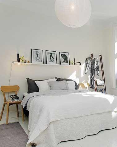 fabriquer une t te de lit avec 3 fois rien fabriquer une t te de lit pinterest chambre. Black Bedroom Furniture Sets. Home Design Ideas