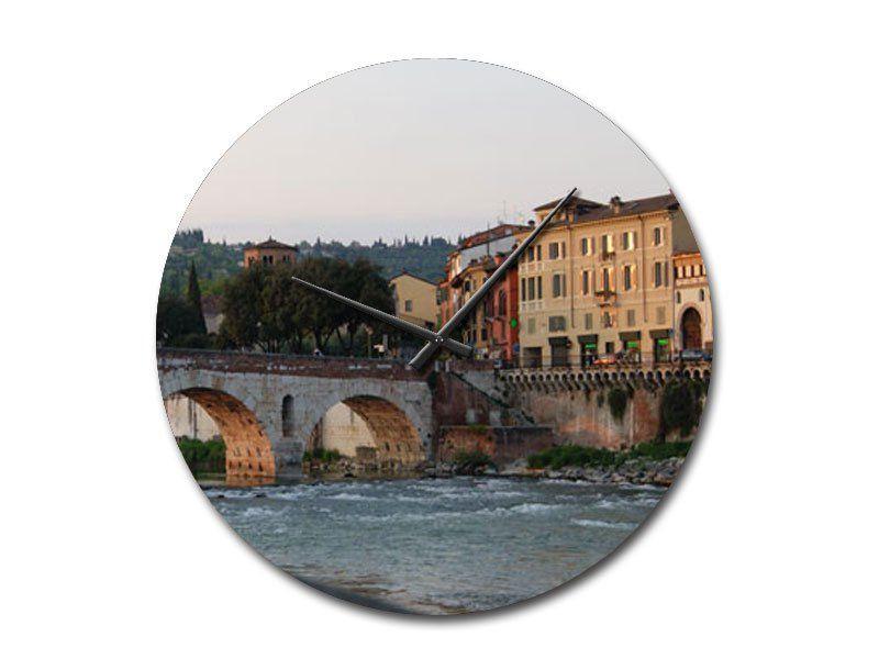 Siena Altstadt Italien Wanduhr