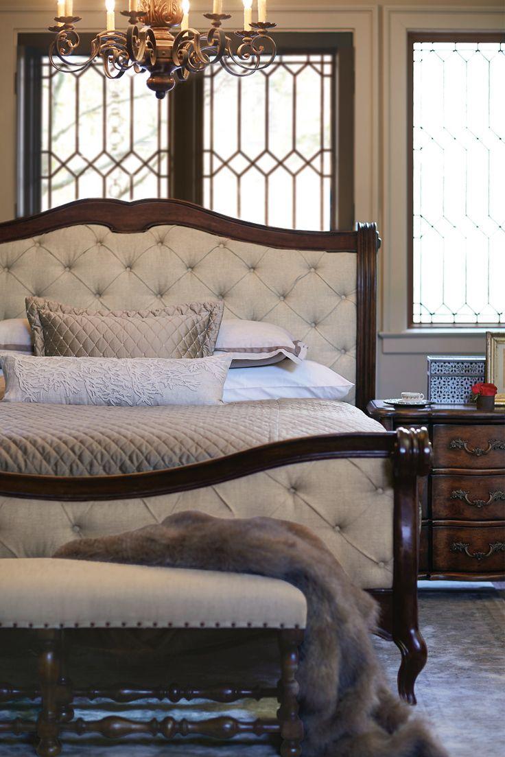 Awe Inspiring Bernhardt Eaton Square Sleigh Bed Rouge Cherry And Poplar Interior Design Ideas Clesiryabchikinfo