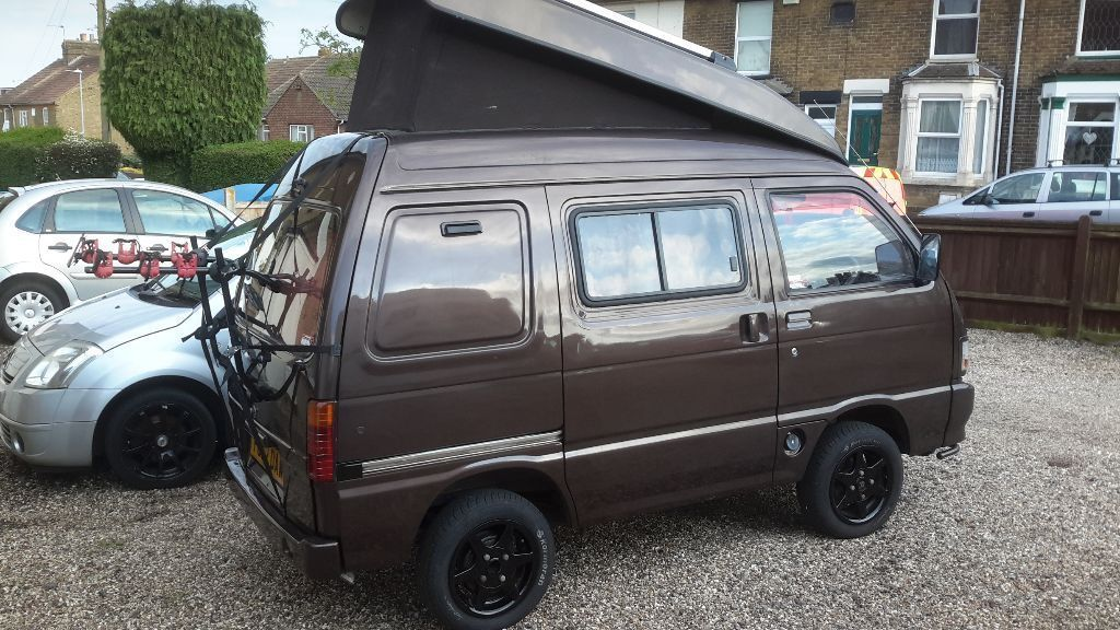 Much Loved Campervan For Sale Hijetta Van Conversion Very Economical On