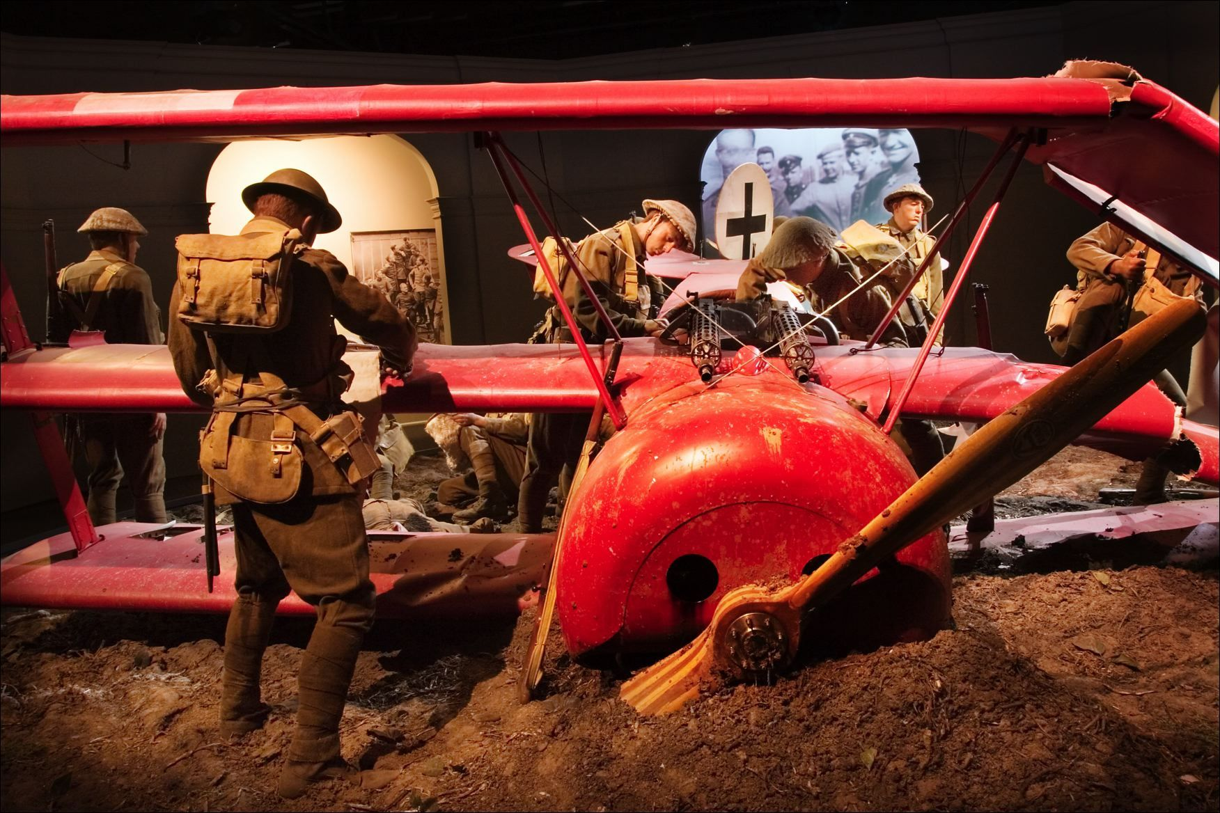 Theres A Full Size Diorama Done At The Aviation Heritage Center At Omaka In Blenheim New Zealand Red Baron Aviation New Zealand