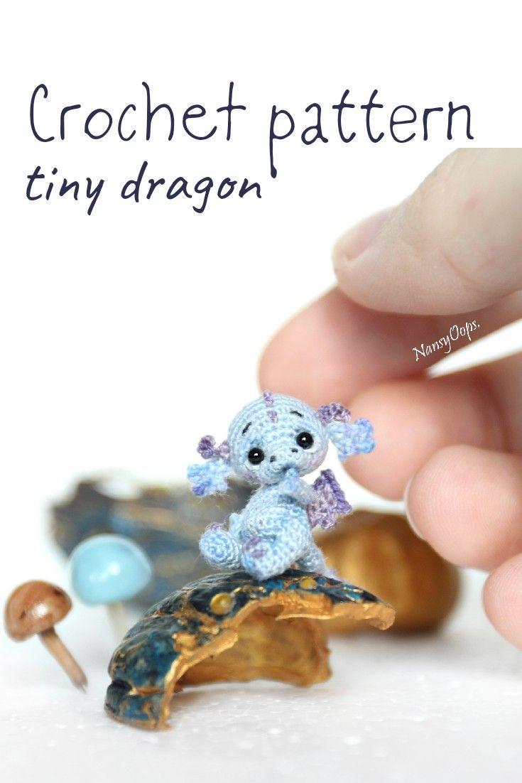 Patron au crochet dragon amigurumi   – Häkeln/Crochet