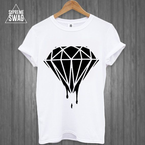 Mens supreme swag hipster Diamond tshirt by SupremeSwagTshirts, $19.99