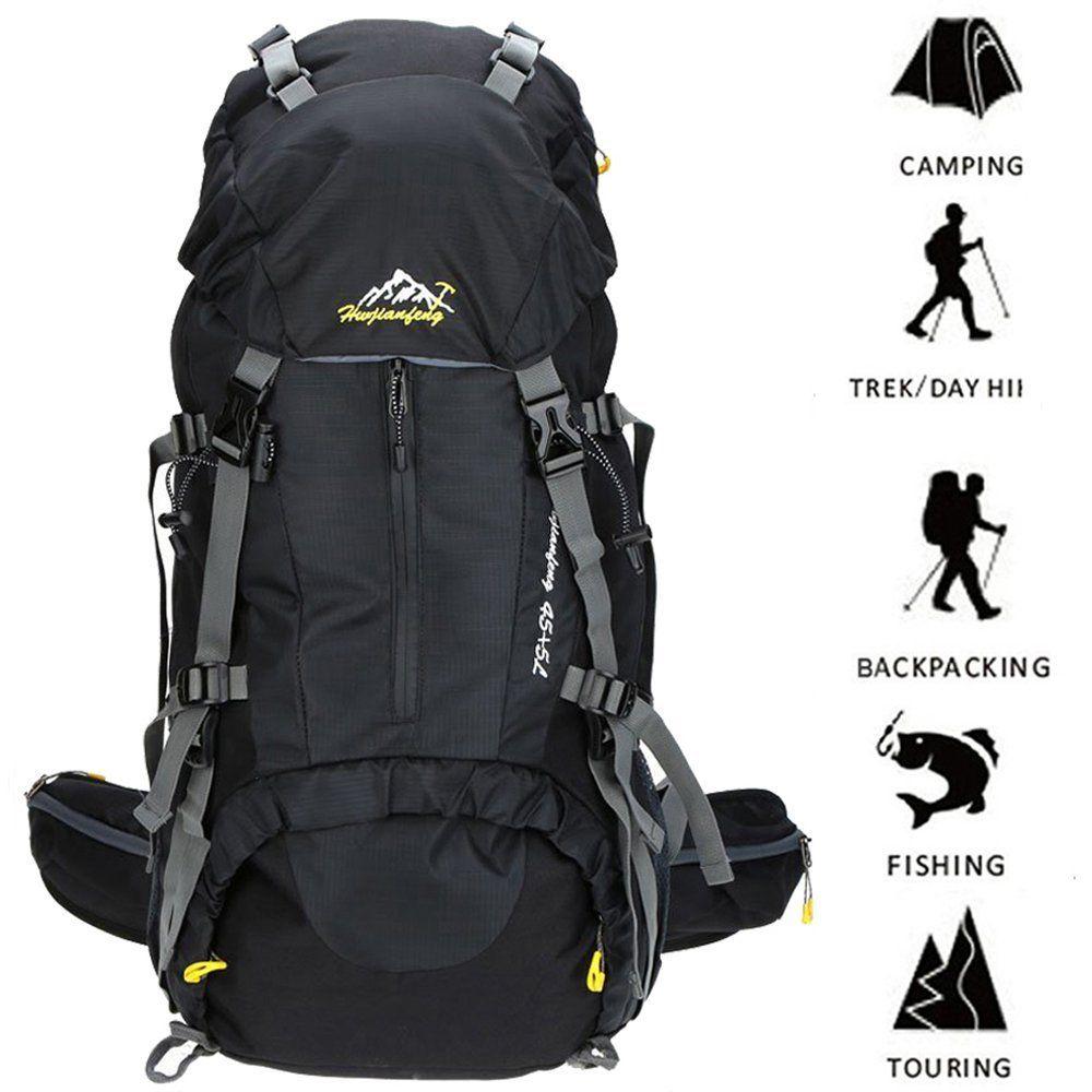 Hiking Backpack ONEPACK 50L(45 5) Waterproof Backpacking Outdoor ...