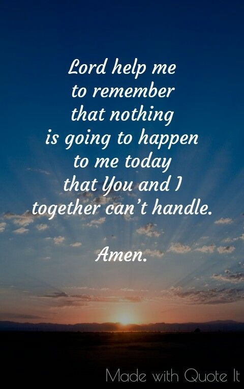 Daily Short Prayer
