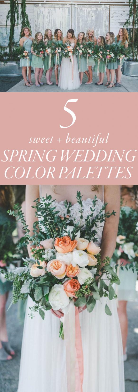 Wedding ideas spring  Spring Wedding Ideas Colour Palettes  Wedding Ideas  Pinterest
