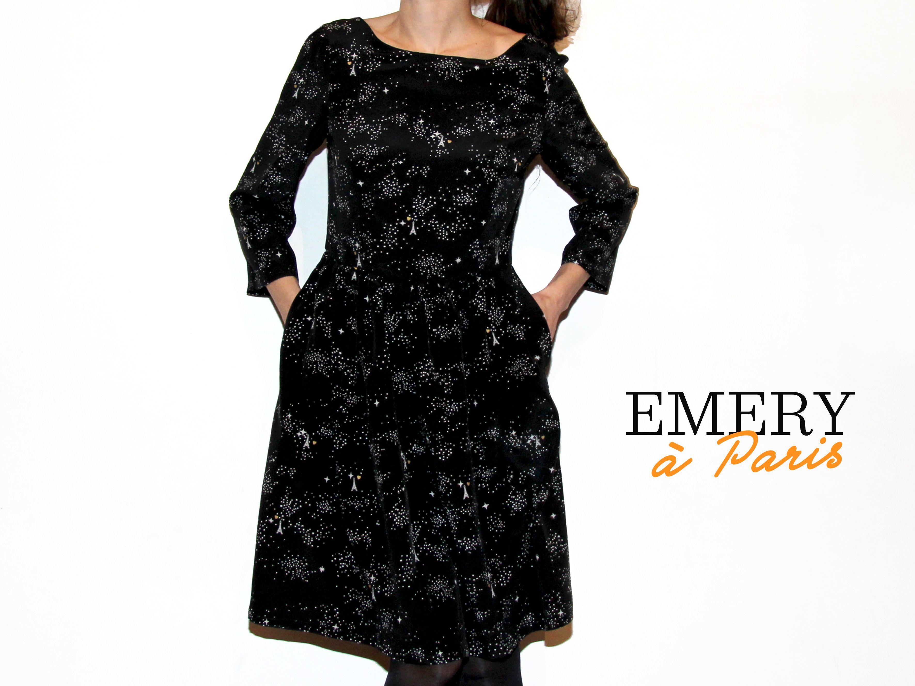 Emery à paris // Emery dress / @Christine Haynes // Jolies bobines