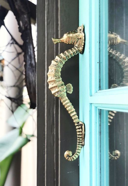 Photo of Seahorse Cabinet Door Pulls & Other Coastal Hardware Ideas