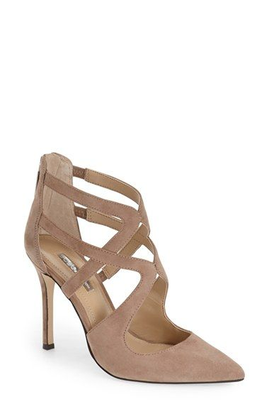 296af5db2 Free shipping and returns on BCBGeneration  Torpido  Cage Pump (Women) at  Nordstrom.com. Striking cage straps add a fierce