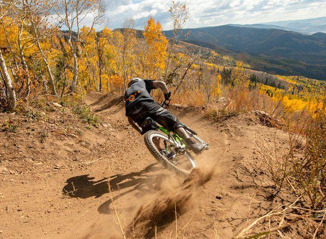 Mountain Bike Downhill Race