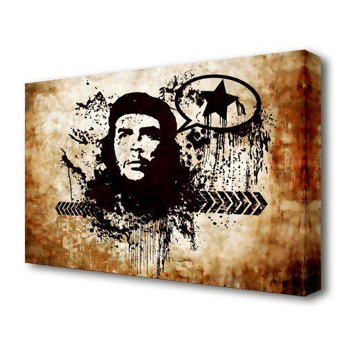 East Urban Home Leinwandbild Che Guevara Brown | Wayfair.de