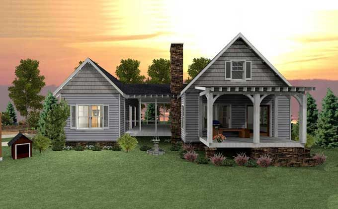 Dog Trot House Plan See more ideas about Cute cottage Dogs and