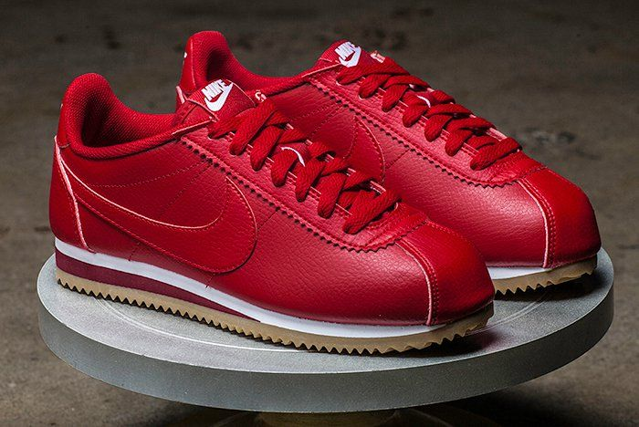 Nike Classic Cortez Leather (Comet Red) | Nike classic ...