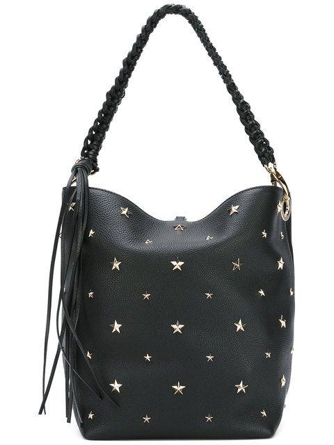 Red Valentino сумка-тоут с заклепками в форме звезд