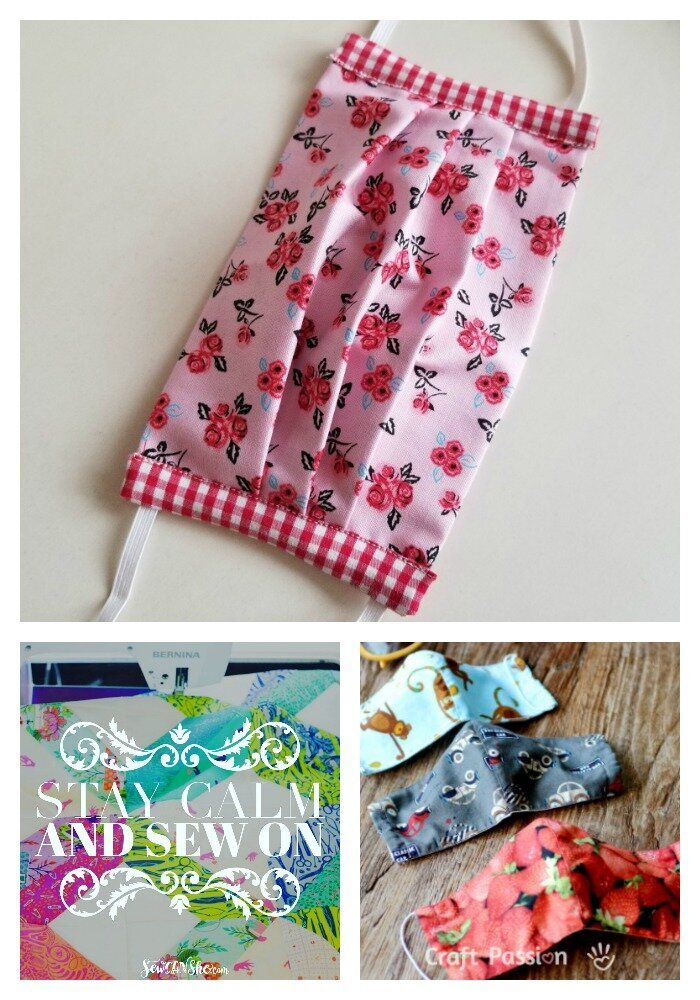 Photo of 5 Free DIY Face Mask Tutorials using fabric – LAST RESORT ONLY — SewCanShe | Free Sewing Patterns and Tutorials