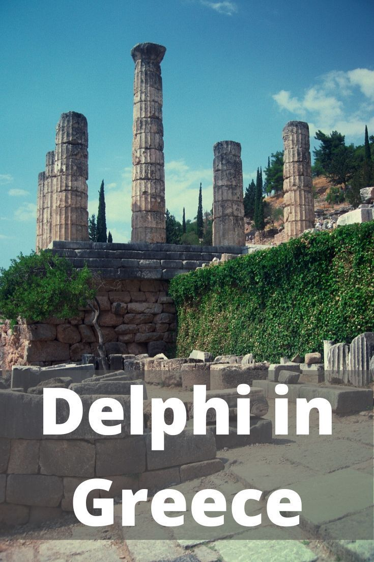 The archaeological site of Delphi can be easily visited on a day trip from Athens. This fascinating UNESCO site is definitely worth adding to your Greece itinerary. #delphi #greece #athens #ancientgreece #traveltips #traveldestinations #visitgreece