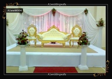 Mehndi Stage Hire : Elegant and unique wedding stages for hire in uk. booking please