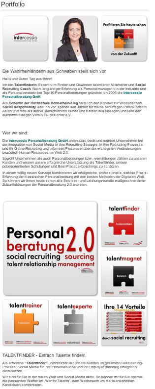 Xing Profil Beispiel Von Intercessio Aka Barbara Braehmer Wahlkampf Digitale Transformation Job