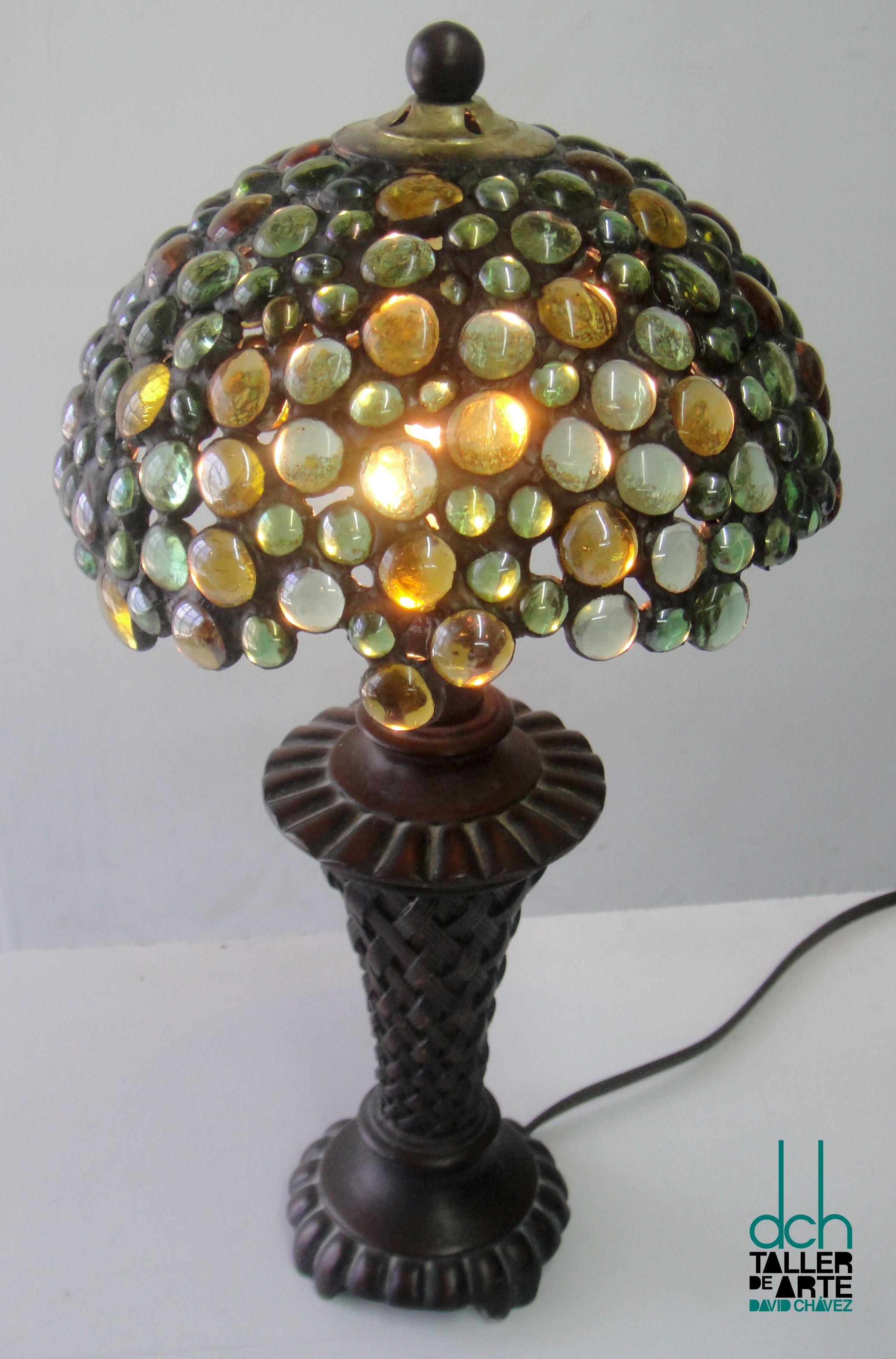RESÉNDIZ realizó lámpara esta con Tiffany la tipo CLAUDIA CWBerdxo