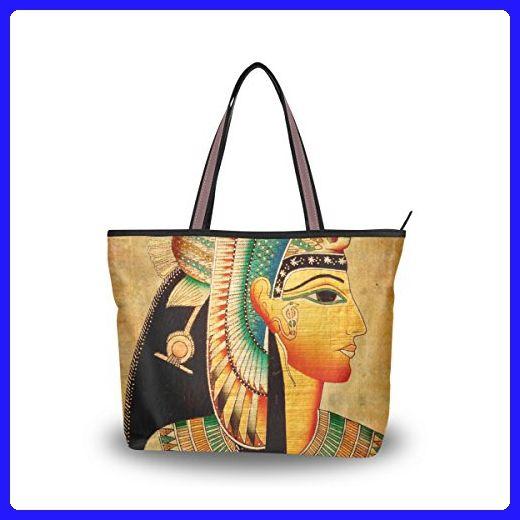 065c65514522 JSTEL Women Large Tote Top Handle Shoulder Bags Vintage Egypt Art ...