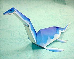 Loch Ness Monster Papercraft