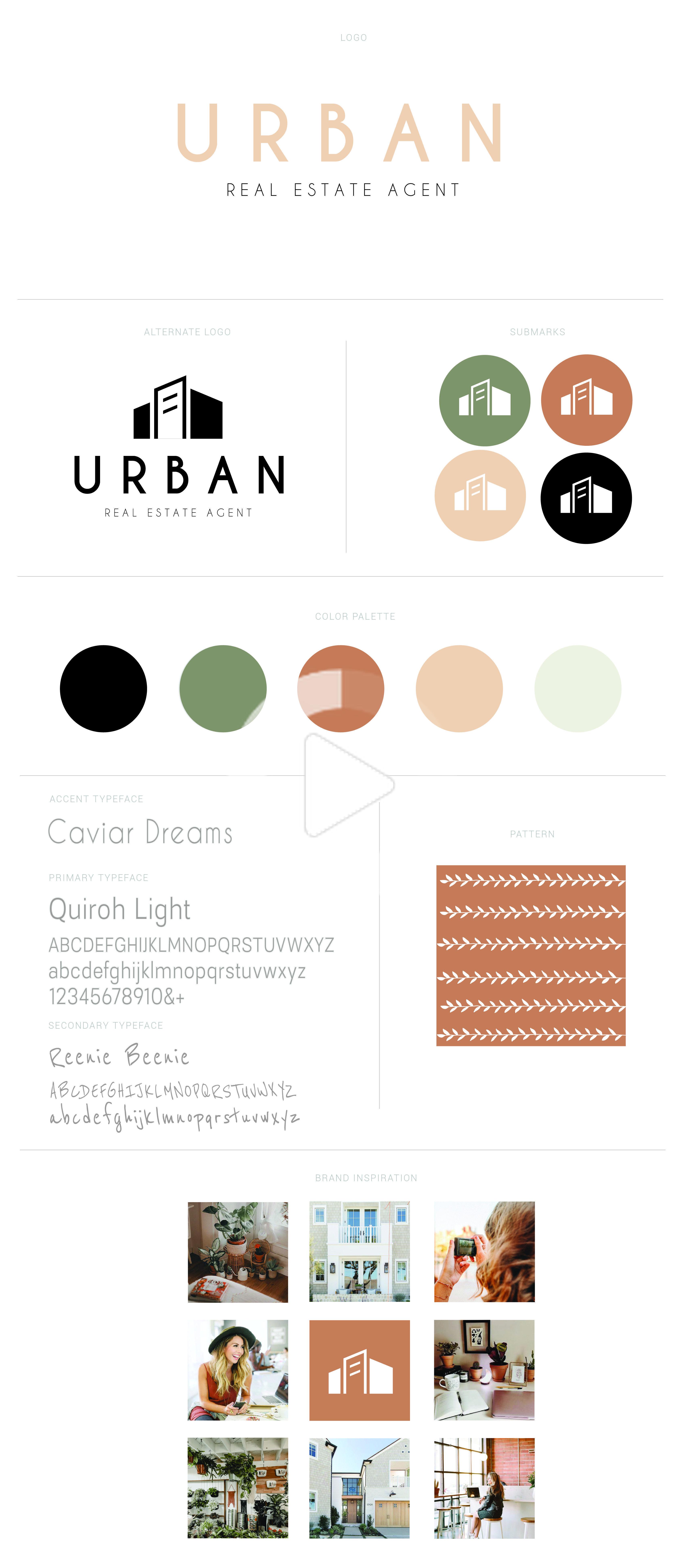 webdesign in 2020 Realtor branding, Real estate logo