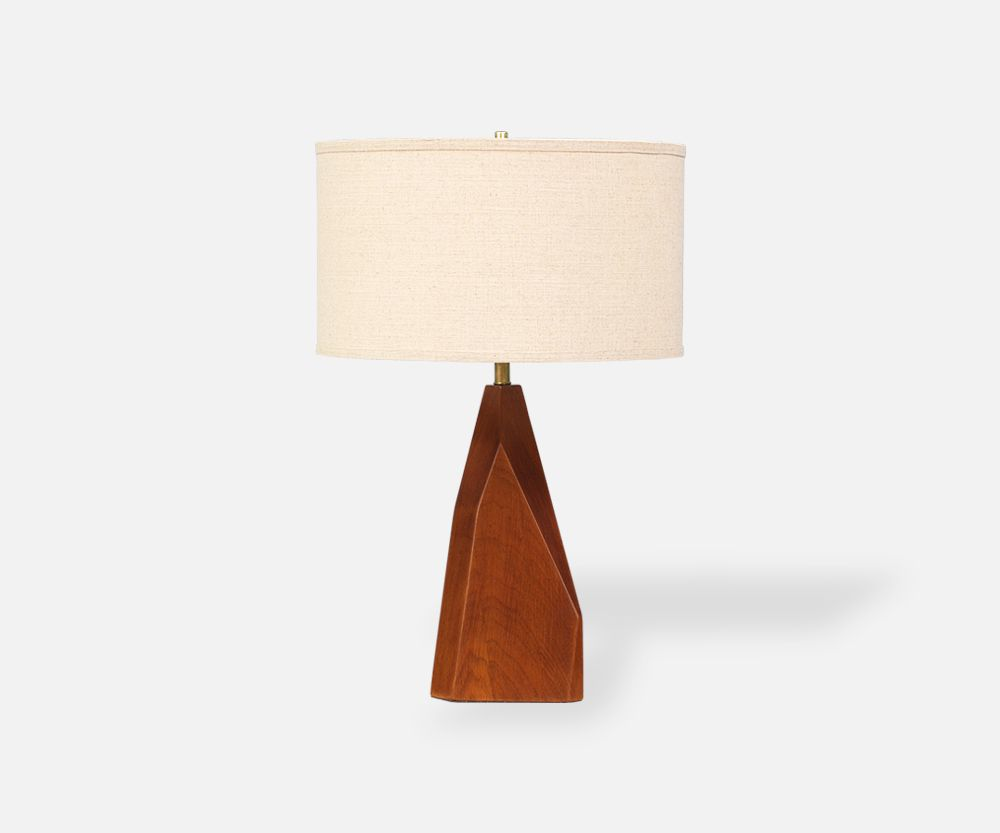 Mid century geometric walnut table lamp table lamps pinterest mid century geometric walnut table lamp walnut tabledanish modernelectrical wiringtable greentooth Gallery