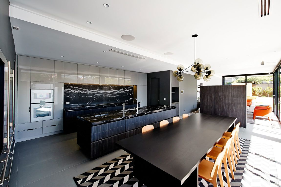 Marble Backsplash Inspiration In The Context Of Designer Homes ...