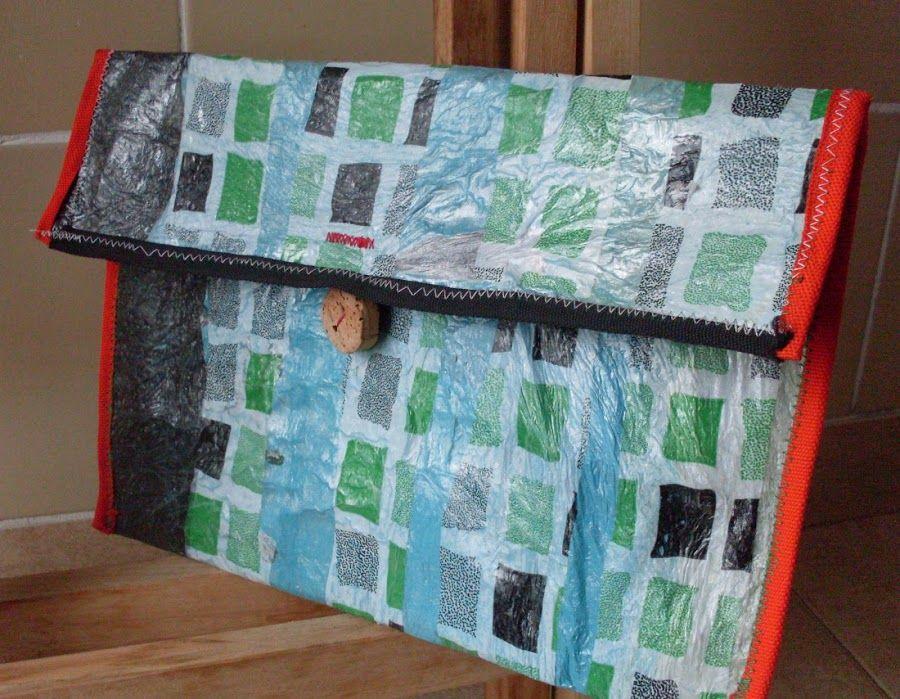 Recicla bolsas de pl stico para hacer tela manualidades - Bolsas de tela manualidades ...
