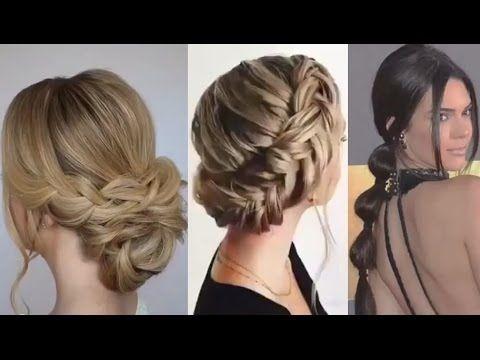 Peinados Con Trenza Faciles Para Fiesta Eventos Elegant Hairstyles For Parties Peinados Con Trenzas Faciles Trenzas Faciles Y Bonitas Peinados Con Trenzas