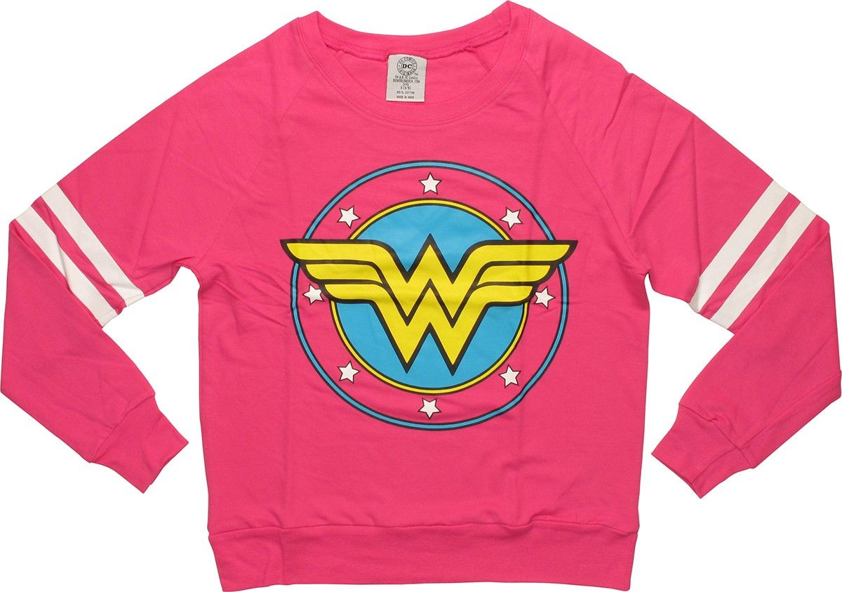Wonder Woman Logo Lightweight Junior Sweatshirt Niños
