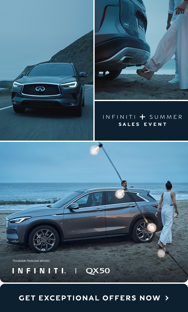 Be The Life Of Every Party Get Exceptional Offers On The Revolutionary Qx50 During The Infiniti Summer Sales Event With Images Lowrider Model Cars Infiniti Tesla Car