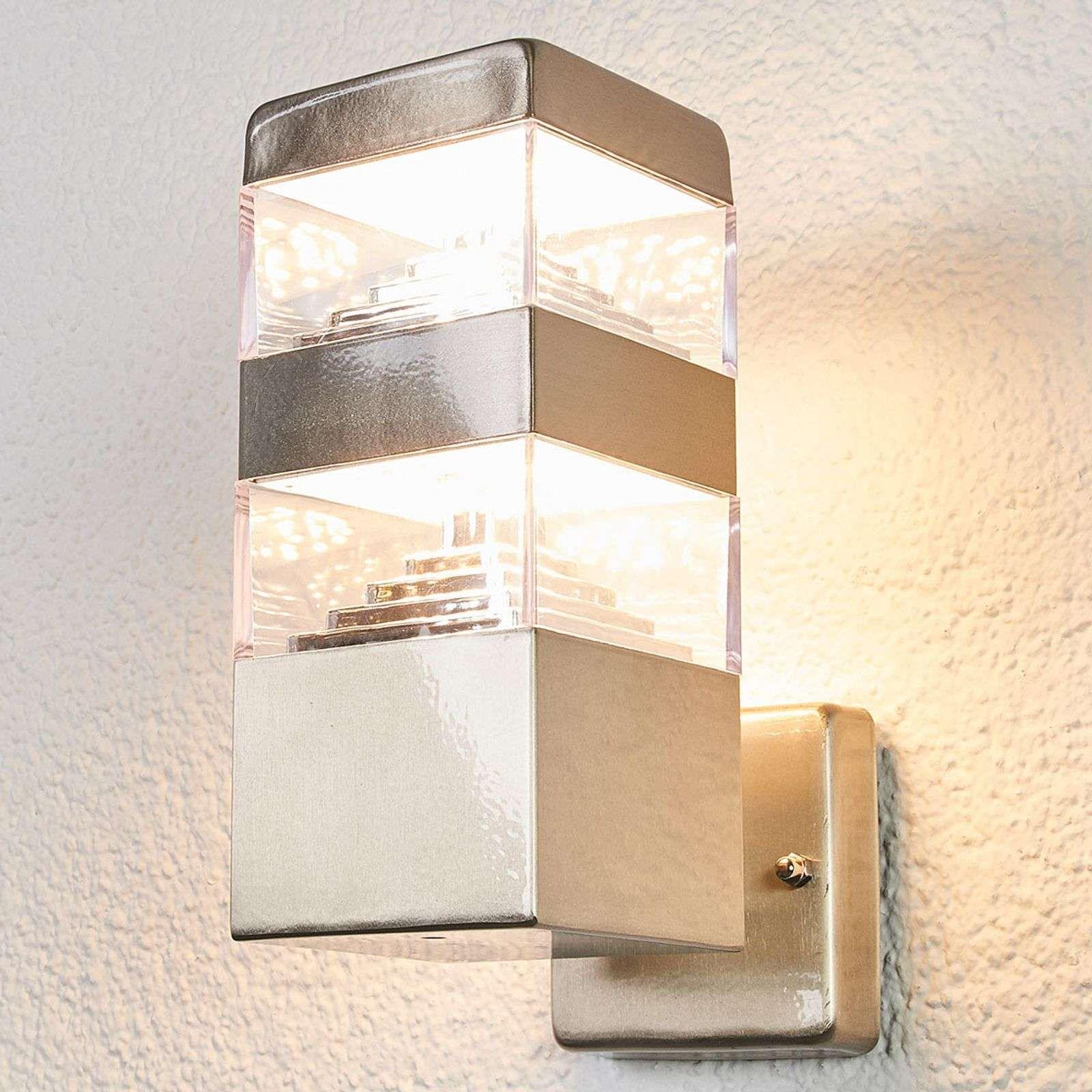Strakke Led Wandlamp Sinja Voor Buiten Van Lampenwelt Com In 2020 Wandlamp Buiten Wandverlichting Led