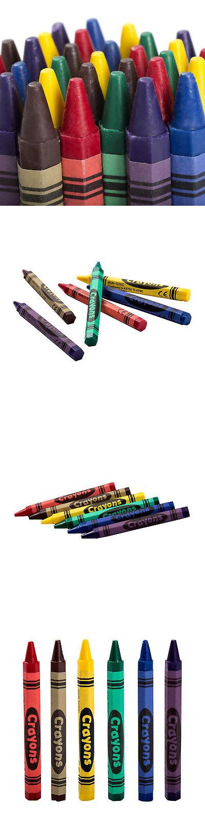 crayons 116653 6 color kids fun restaurant bulk honeycomb crayons