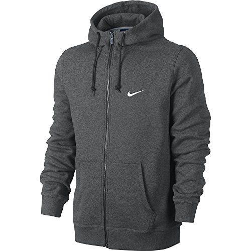NIKE Nike Men'S Club Swoosh Full Zip Fleece Hoodie. #nike #cloth #