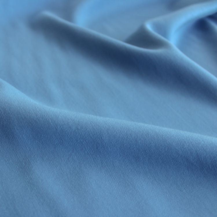 Tencel & Viscose Twill - Blue | Blackbird Fabrics