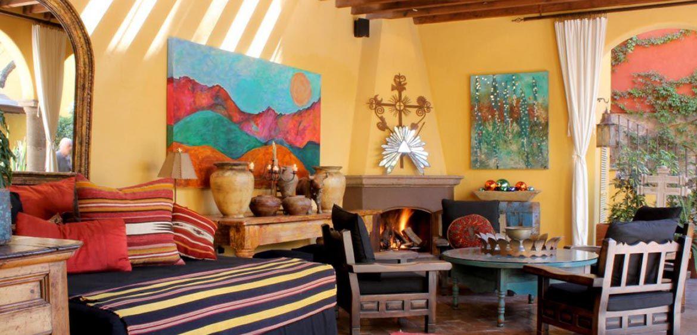 Decora tu casa con mucho estilo mexicano ideas for Decoracion de interiores estilo mexicano
