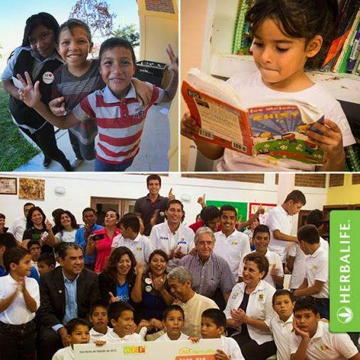 Fundacion De La Familia Herbalife Abrio Un Nuevo Programa Casa