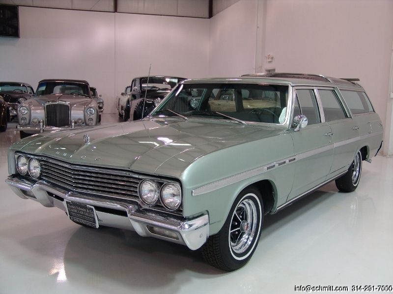 DANIEL SCHMITT U0026 CO CLASSIC CAR GALLERY PRESENTS: 1965 BUICK SPORT WAGON  VISTA CRUISER