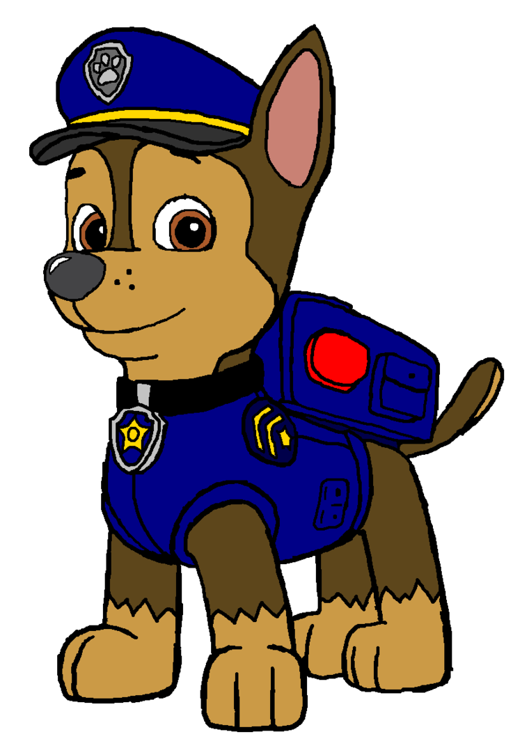 Chase from paw patrol coloring pages - Free Paw Patrol Colouring Pages Chase Paw Patrol Google Search