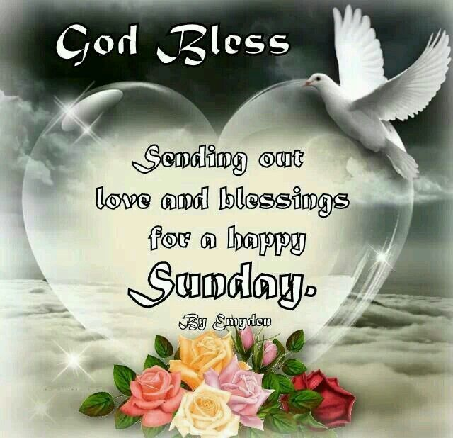 Sending Love Blessings Happy Sunday Quotes Blessed Sunday Good Morning Happy Sunday
