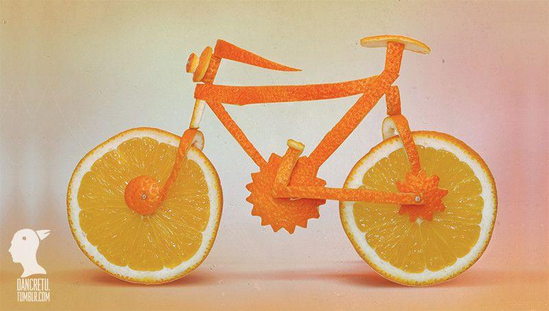 Orange Bike by Dan Cretu on 500px