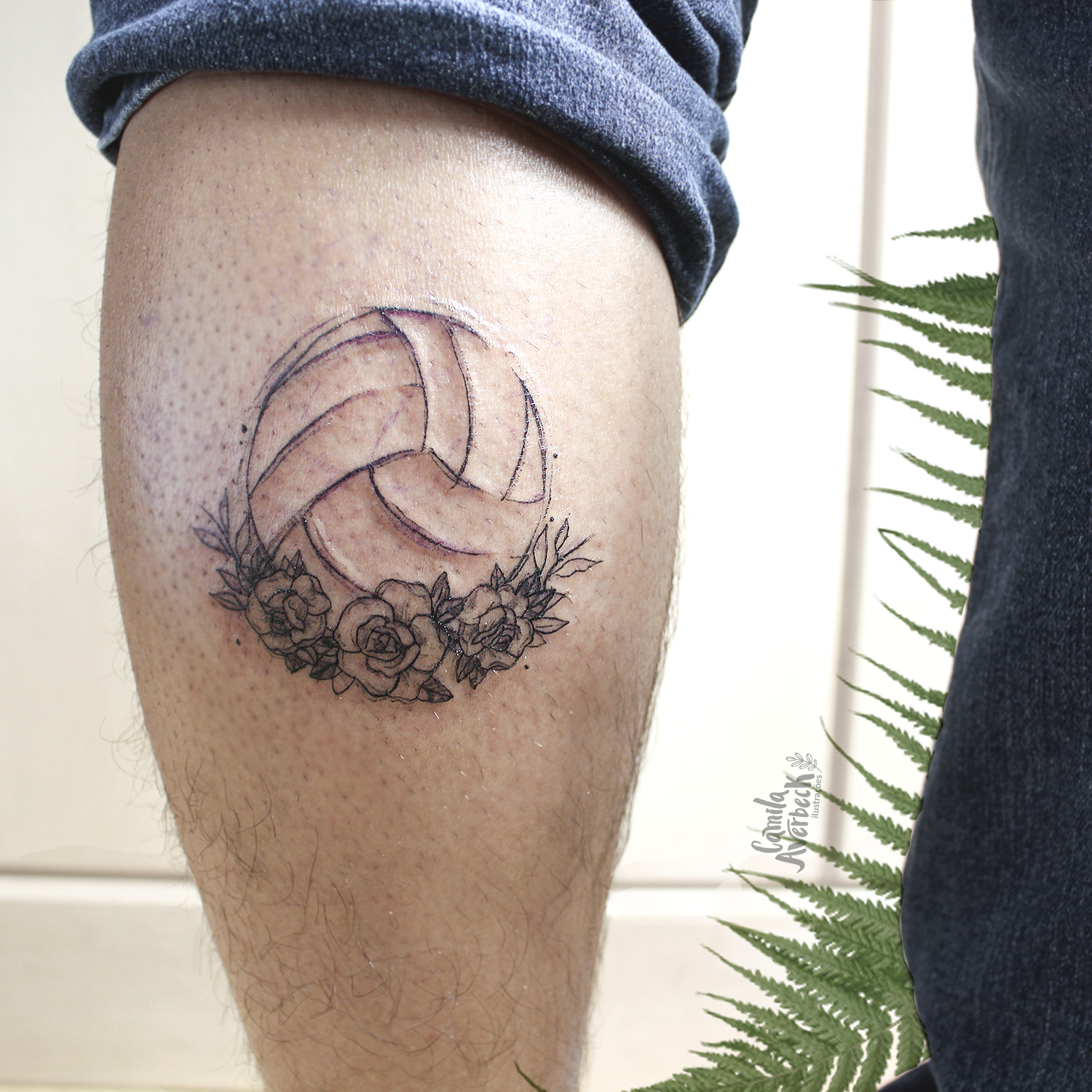 Volleyball Tattoo Tattoo Tatuagem Ink Inkme Inked Volleyball Volei Volleytattoo Rosa Roses Rosetattoo Bota Volleyball Tattoos Small Tattoos Tattoos