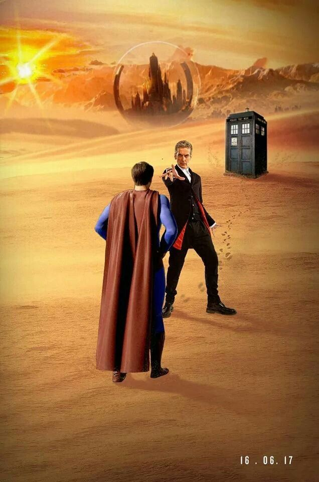 The Doctor vs Superman. Who wins? #DoctorWho #Superman