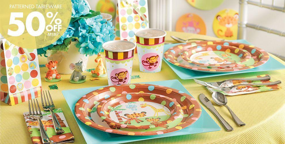 Fisher Price Baby Shower Party Supplies | Nessa\'s Baby Shower Idea\'s ...