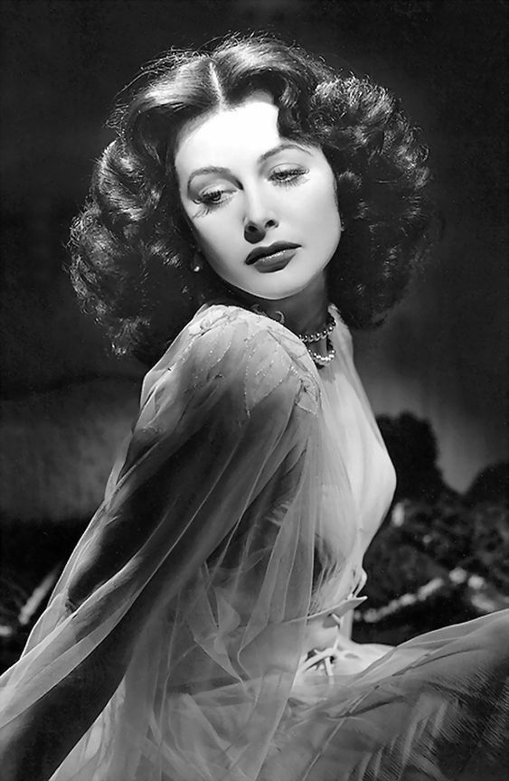 Hedy Lamarr in a publicity photo for The Heavenly Body