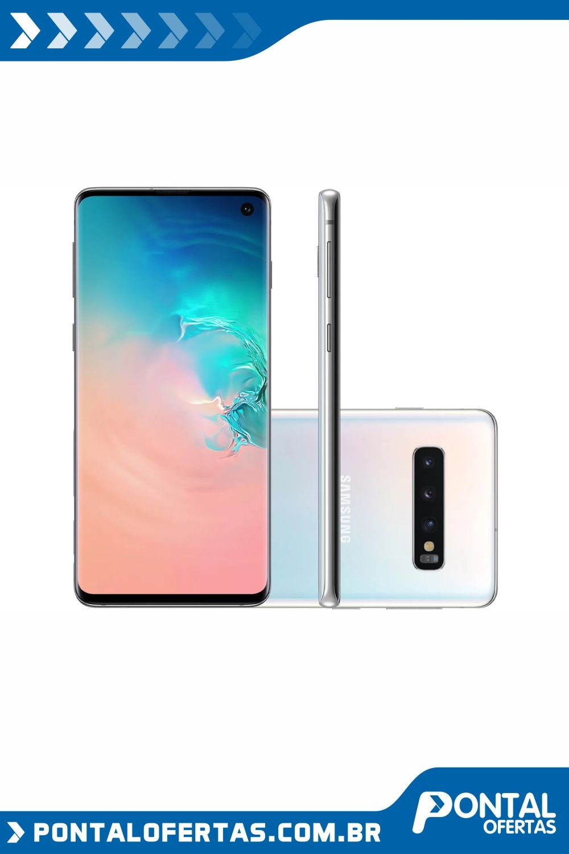 Smartphone Samsung Galaxy S10 128gb Branco 4g 8gb Ram Tela 6 1 Cam Tripla Cam Selfie 10mp Smartphone Samsung Galaxy Celulares